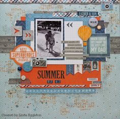 Echo Park Jack & Jill & Kaisercraft Oh So Lovely - By Linda Eggleton (All About…