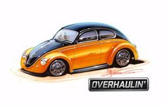 Custom Vw beetle  | ... was a special one not only because we had never customized a vw beetle