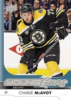 Canadian Hockey Cards: Rookies, Upper Deck and Young Guns for sale. Finish your collection here. Hockey Cards, Baseball Cards, Boston Bruins Hockey, Young Guns, Upper Deck, Trading Cards, Decks, Nhl, Coaching