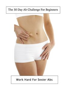 Do you have a special event coming up and your abs are in need of help? Has your back been giving you trouble and you know you need to work on your core? Try The Frugal Exerciser 30 day ab challenge for beginners. You have to work hard for sexier abs.