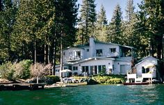 Donner Lake Vacation Rental - VRBO 307678 - 6 BR Lake Tahoe North Shore CA House in CA, A Gorgeous Lakefront Property and Marina on the Sunny Side of Donner