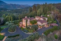 Joe Montana's Calistoga Ranch For Sale Horseback Riding Trails, Calistoga Ranch, Arch Doorway, Marble Island, Ranches For Sale, Joe Montana, Outdoor Spa, Cypress Trees, Horse Stables