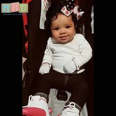 Caucasian (German), Cherokee Indian & African American  Te'La (Tayla) Rae Reliford - 6 Months  Submission By: Samantha Bay   #MRB #MixedRaceBabies #MixedLove