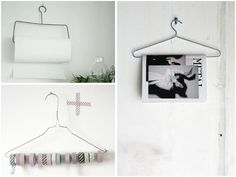 Wire Hanger Ideas - you know I'll be trying almost every single one of these!