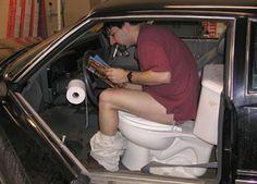 Des toilettes pour sièges de voitures » MegaPortail - Images insolites,Photos choquantes,Videos.