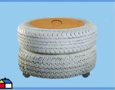 ¿Qué podemos hacer para reciclar neumáticos? ¡No te lo vas a creer!