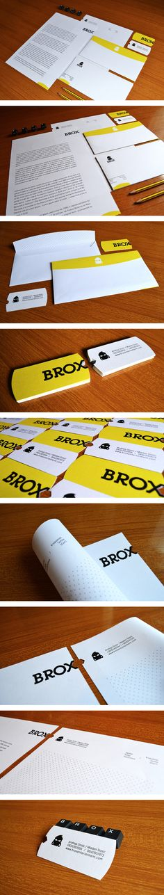 BROX identity   Curated By: Transition Marketing Services | Okanagan Small Business Branding & Marketing Solutions http://www.transitionmarketing.ca