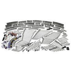 Craftsman 540-piece Mechanics Tool Set with 84T Ratchet