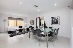The luxurious Rochester has an abundance of rooms for family fun and entertaining. Visit: www.mimosahomes.com.au Call: 1300 MIMOSA Cupboard Storage, Dining Table, Furniture, Home, Conference Room Table, Home And Family, Built In Wardrobe, Home Decor, Game Room