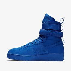 innovative design 599e3 0d056 Nike SF Air Force 1 High Game Royal