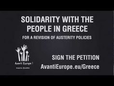 AvantiEurope.eu - Solidarity with the Greek People Campaign