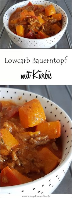 Lowcarb Bauerntopf mit Kürbis geht schnell und ist lecker Lowcarb peasant pot with pumpkin goes fast and is delicious. The perfect dinner. Healthy Dinner Recipes, Healthy Snacks, Vegetarian Recipes, Snack Recipes, Easy Recipes, Law Carb, Le Diner, Beef Recipes, Budget Recipes