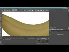 Modelar uma Banana no Cinema 4D - YouTube