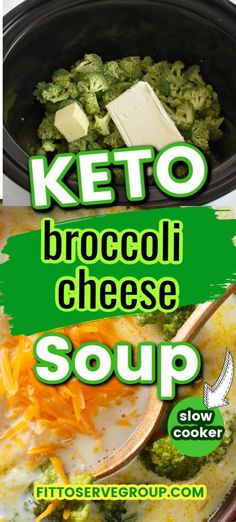 Looking for a keto soup that the entire family will love? Well, I promise you that this low carb broccoli cheese soup will be loved by all. This means the entire family can enjoy a hearty soup, making dinnertime an easy breeze. Plus it's keto broccoli cheese soup that's made in a crockpot. Slow cooker keto soup? keto broccoli and cheese soup| low carb broccoli and cheese soup #ketobroccolicheesesoup #lowcarbbroccolicheesesoup #ketocrockpotsoup #lowcarbslowcookersoup
