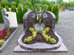 Cemetary Decorations, Memorial Park, Memories, Plants, Photos, Flower Arrangements, Floral Arrangements, Urn, Cemetery Statues