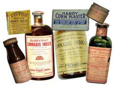Antes de 1950 los medicamentos de cannabis eran frecuentes en las farmacias
