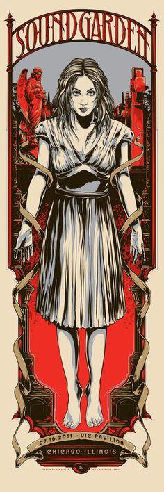 Amazing Gig Poster Designs of Ken Taylor