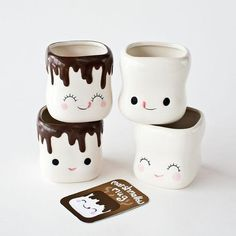 One Hundred Eighty Degrees Marshmallow Mugs :: Red Chair Kids