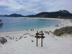Illas Cíes in Vigo, Galicia
