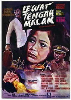 #2 Lewat Tengah Malam (Sjuman Djaya), 1971 #design poster