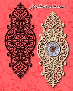Scroll Saw Patterns :: Clocks -