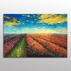 Art Painting, Landscape Painting, Oil Painting, #oilpainting #impasto #paintingtextured #readytohang #landscapepainting #abstractart #canvasart #modernpainting #livingroomart #originalpainting #abstractpainting #largewallart #largepainting Canvas Painting Landscape, Abstract Canvas Art, Oil Painting Abstract, Painting Canvas, Large Canvas Wall Art, Large Art, Painting Edges, Original Paintings, Etsy