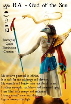 Ra - Sun God by Erebus-art on DeviantArt