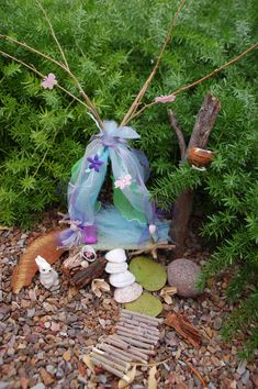 Woodland Fairy Bed--Sweet dreams