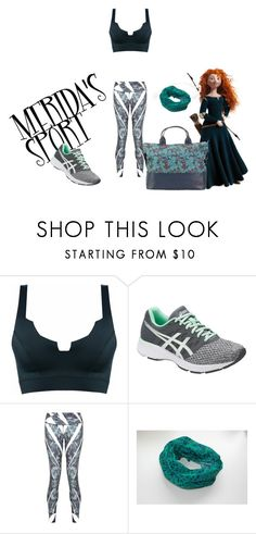 """MERIDA'S SPORT"" by mariapizzuto on Polyvore featuring moda, Merida, Vertty, Asics, Pocket Sport e Hadaki"