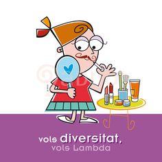 "Campaña ""Vols sumar-te"", Colectivo Lambda Valencia. Diversidad-LGTB"