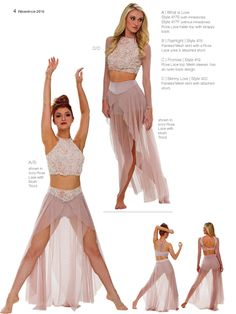 ISSUU - Reverence 2016 by Reverence Dance Apparel Shalynn's lyrical solo costume Cute Dance Costumes, Dance Costumes Lyrical, Lyrical Dance Songs, Halloween Costumes, Carnival Costumes, Dance Outfits, Dance Dresses, Pole Dance Outfit, Dancing Outfit