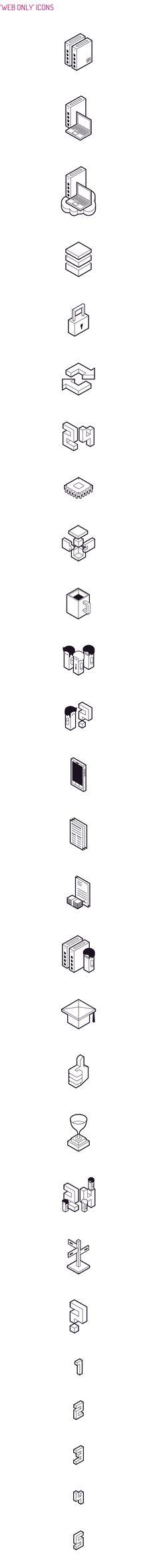 DATERA - Icon Design by Perconte , via Behance