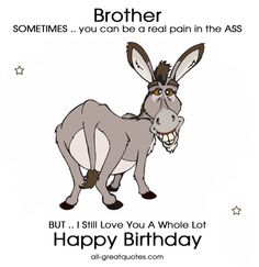 Click For Free Birthday Cards Brother To Share Quotes Happy