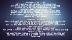 White Walls - Macklemore Lyrics (German and english)