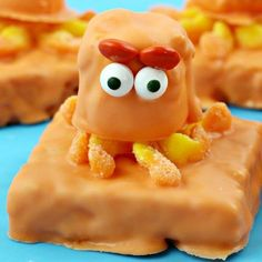 Finding Dory Rice crispy Treat