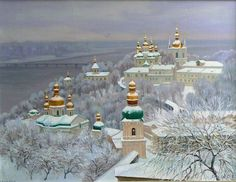 Kiev Lavra, Mother of All Russian. Cities.