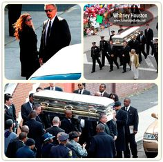 Whitney Houston funeral pictures