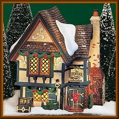 DEPT 56 DICKENS VILLAGE SPIDER BOX LOCKS 58448  RETIRED IN BOX BRAND NEW