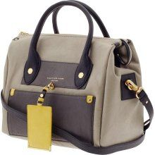 Marc by Marc Jacobs Preppy Leather Color Blocked Pearl