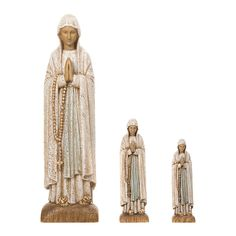 Virgen de Lourdes madera Monasterio de Belén | venta online en HOLYART