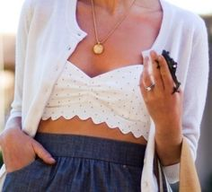 Polka dot bralet - Would love to have it