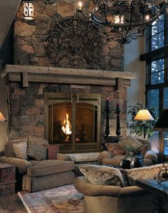 The perfect fireplace!