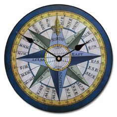 "Compass Clock, 12""- 60"" , Whisper Quiet, non-ticking The Big Clock Store http://smile.amazon.com/dp/B009W6KO40/ref=cm_sw_r_pi_dp_2Kwpvb0V4ZRH1"