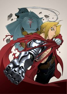 Day 73: FULLMETAL ALCHEMIST, the original anime! Everyone likes Brotherhood because it follows the manga, but this one is just as funny! :D