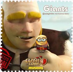 Clash of Clans Giants Minions