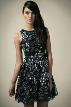 Nice for a night out or u could spruce it up for a wedding.
