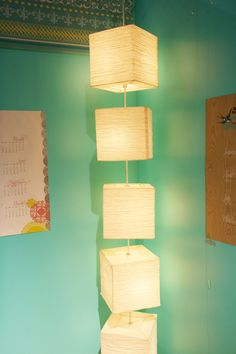 turns paper lanterns into a whole light installment