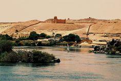 Incredible scenery: Assouan, Egypte