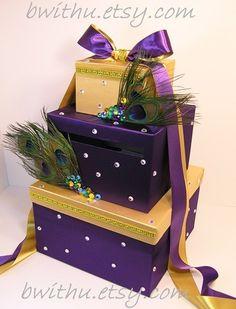 Wedding Card Box Gift Card Box Money Box by bwithustudio on Etsy, $110.00