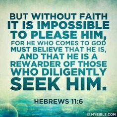 Reminder about seeking Him